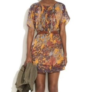 Madewell Freehand Floral Dress, sz. 4